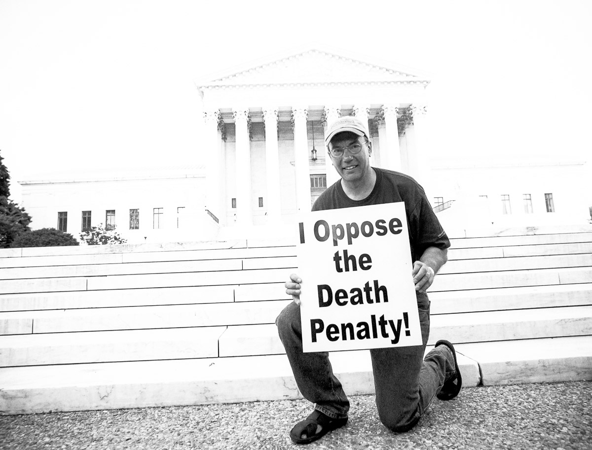 David Kacynski opposes the death penalty and executions