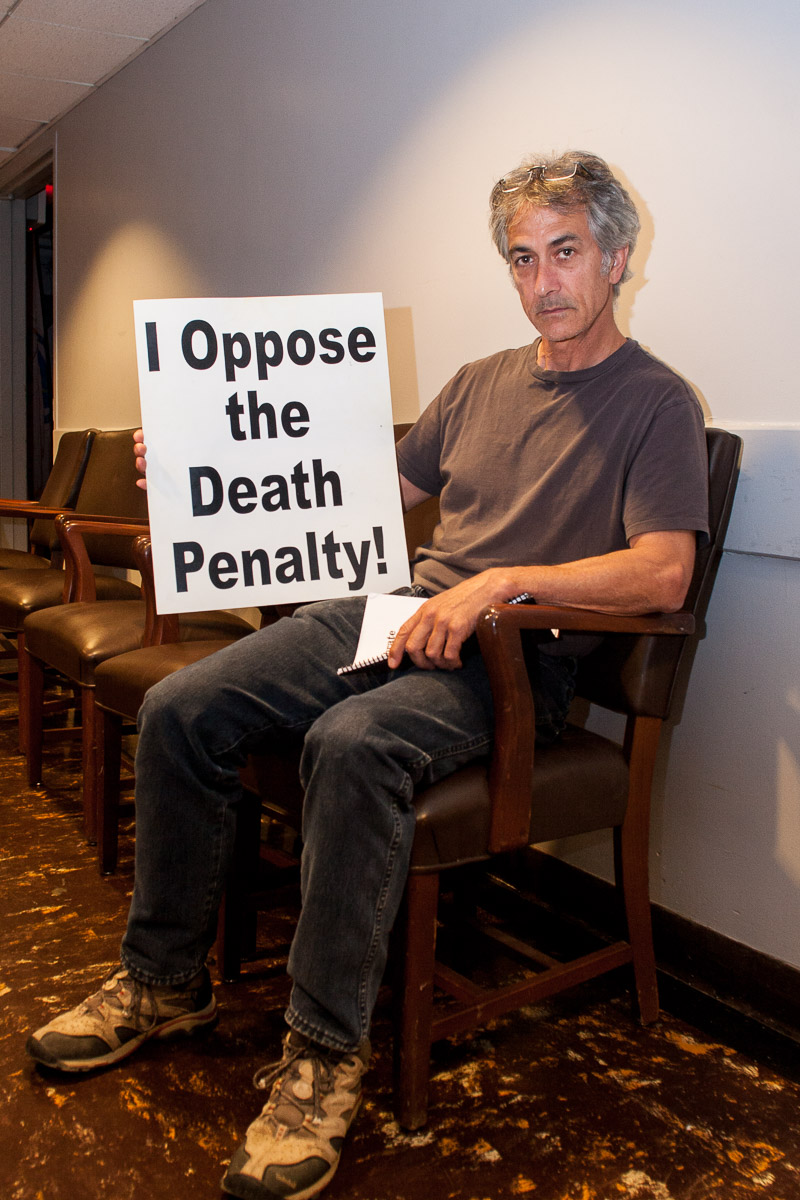 David Strathairn opposes the death penalty and executions