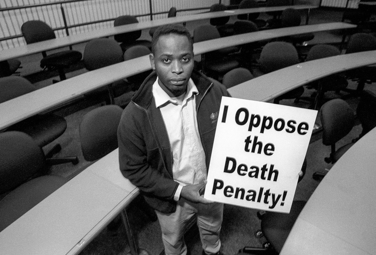 Ken Wiwa opposes the death penalty and executions