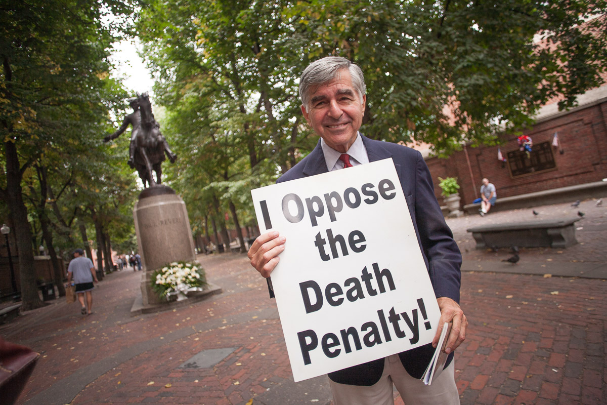 Michael Dukakis (former Massachusetts Governor) opposes the death penalty and executions