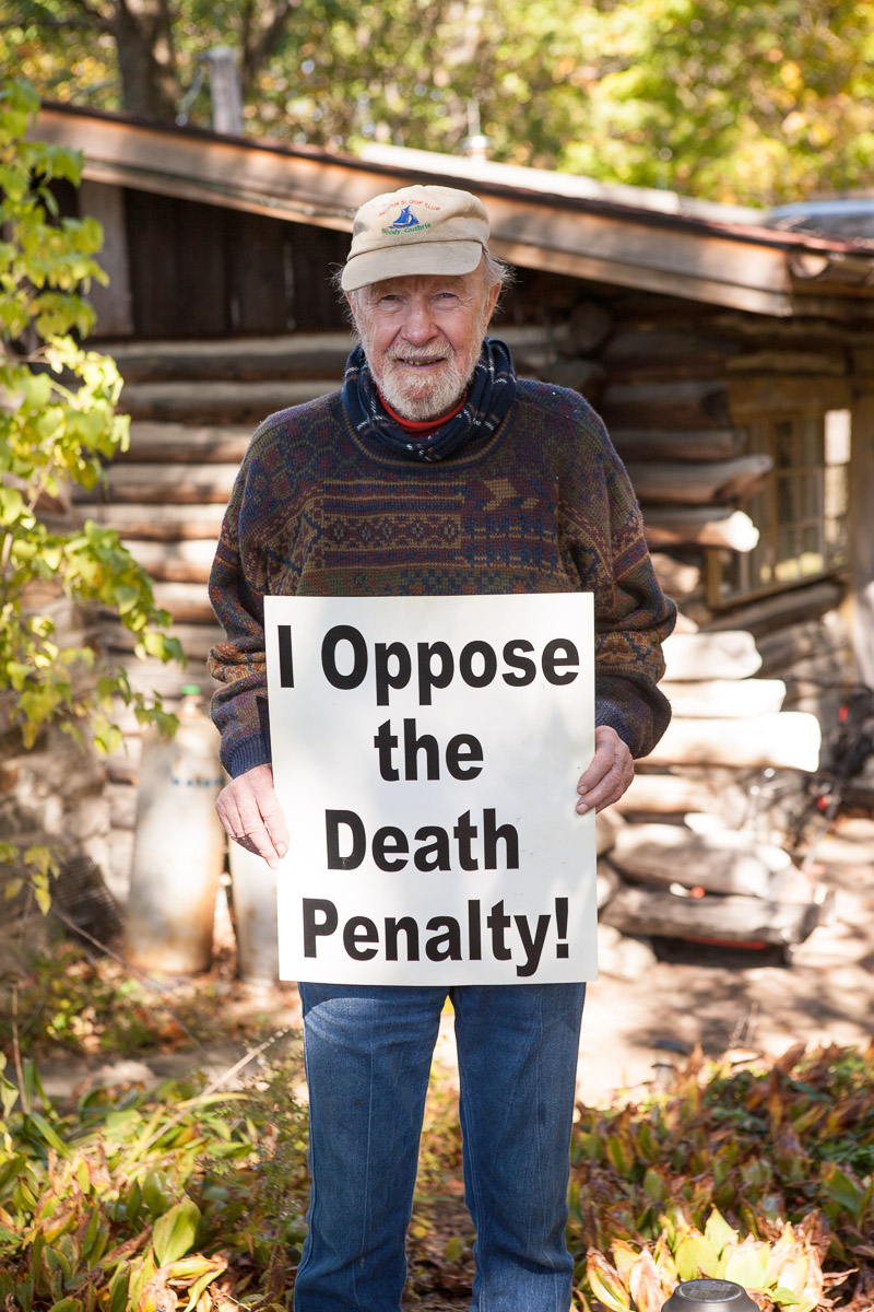 Pete Seeger opposes the death penalty and executions