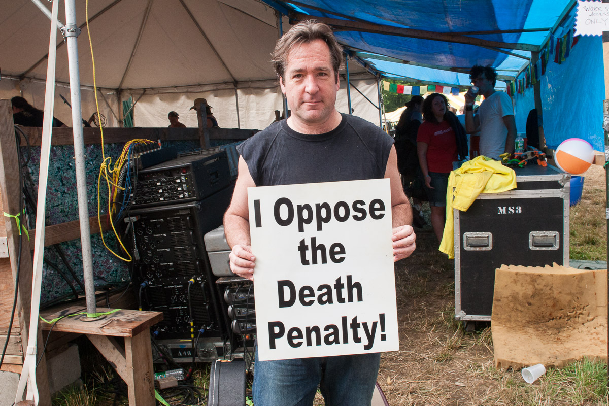 Richard Shindell opposes the death penalty and executions