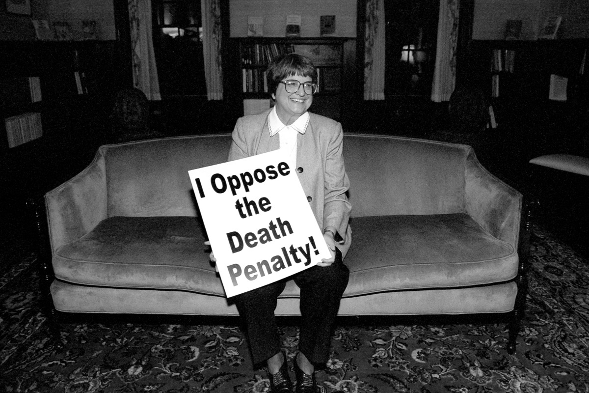 Sister Helen Prejean opposes the death penalty and executions