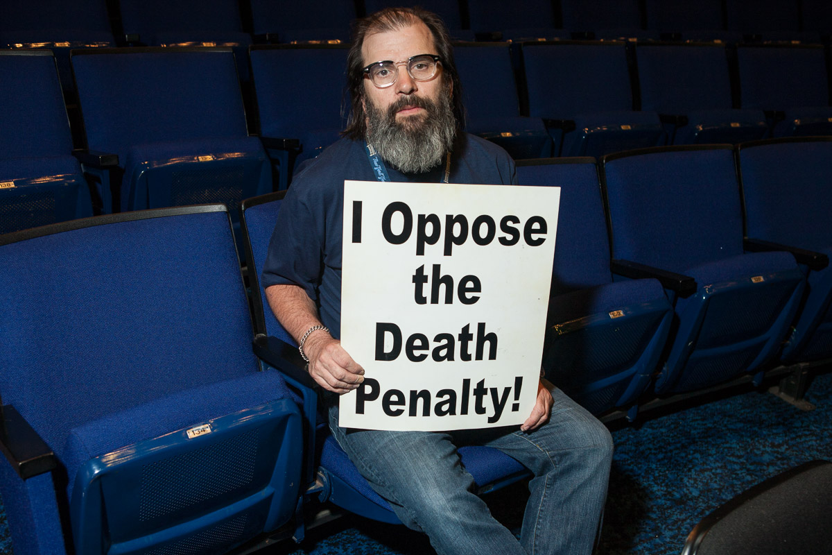 Steve Earle opposes the death penalty and executions