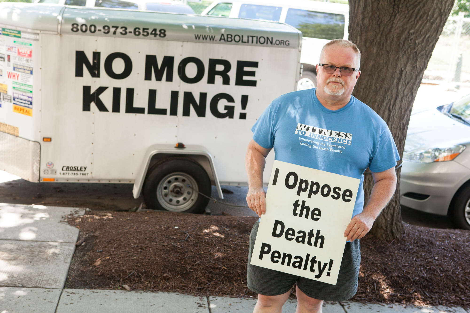 Kirk Bloodsworth - Maryland - death row innocent, wrongful conviction, exonerated