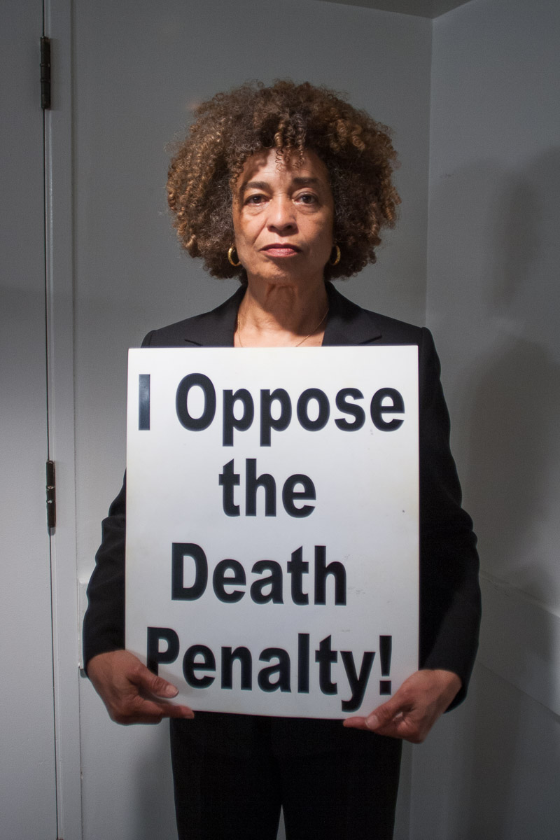 Angela Davis opposes the death penalty and executions