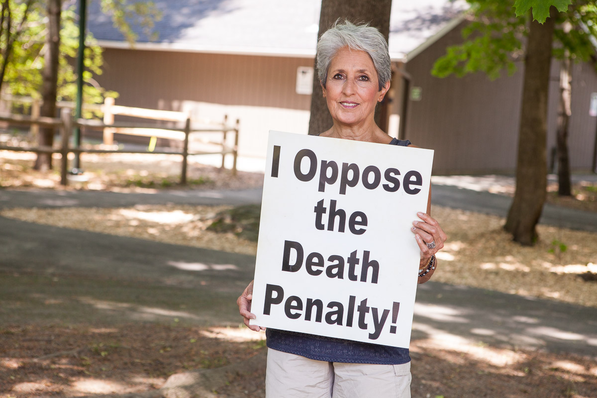 Joan Baez opposes the death penalty and executions