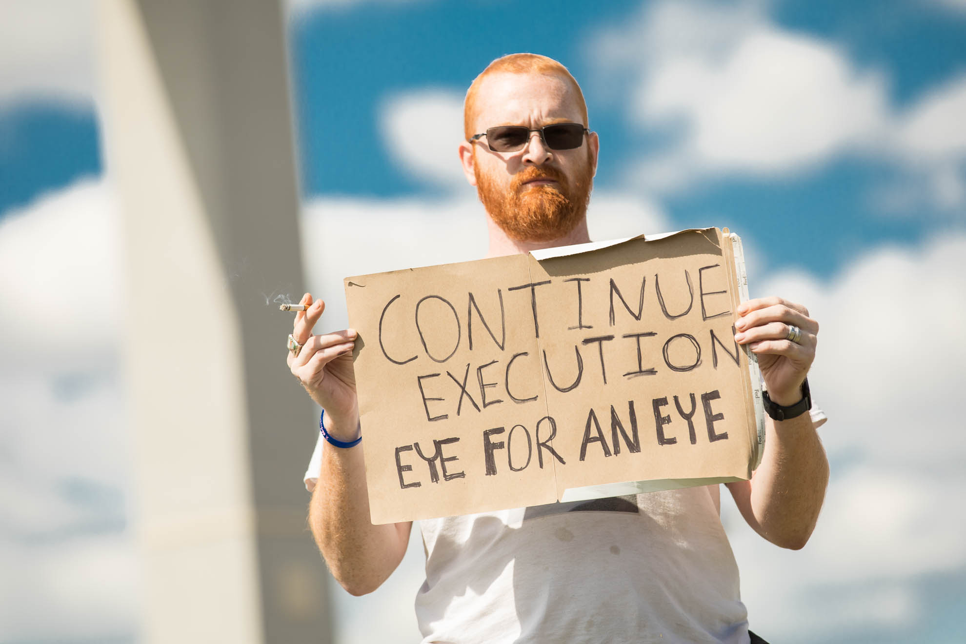 death penalty, photography, photos, execution, documentary, pro, support, trump, federal, terre haute, religious, eye for eye